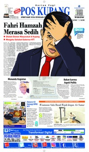 Cover Pos Kupang 18 Oktober 2018