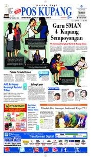 Cover Pos Kupang 19 Oktober 2018