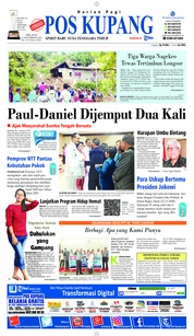 Cover Pos Kupang 13 November 2018