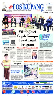 Cover Pos Kupang 14 November 2018