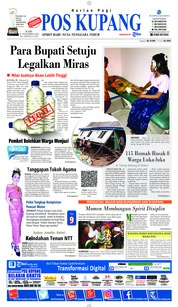Cover Pos Kupang 21 November 2018