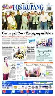 Cover Pos Kupang 11 Desember 2018