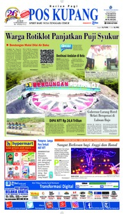 Cover Pos Kupang 14 Desember 2018