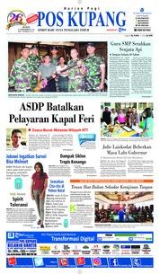 Cover Pos Kupang 17 Desember 2018