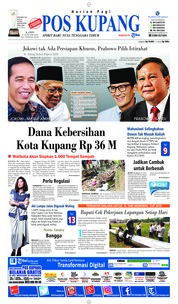 Pos Kupang Cover 17 January 2019