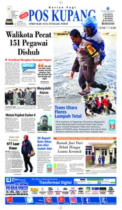 Cover Pos Kupang 19 Januari 2019