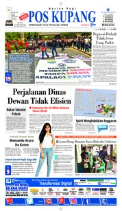 Cover Pos Kupang 21 Januari 2019