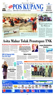 Cover Pos Kupang 23 Januari 2019