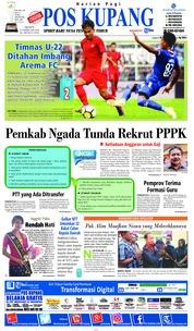 Pos Kupang Cover 17 February 2019