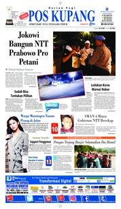 Cover Pos Kupang 18 Februari 2019