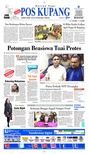 Pos Kupang Cover 20 February 2019