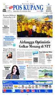 Pos Kupang Cover 21 February 2019