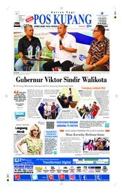 Cover Pos Kupang 22 Februari 2019