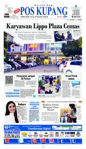 Cover Pos Kupang 23 Februari 2019