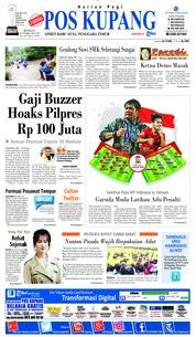 Cover Pos Kupang 24 Februari 2019