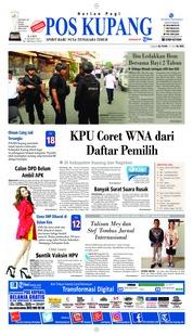 Cover Pos Kupang 14 Maret 2019