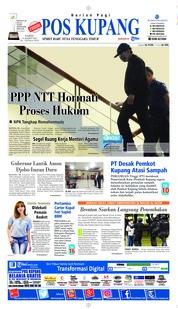 Cover Pos Kupang 16 Maret 2019