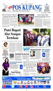 Pos Kupang Cover 18 March 2019