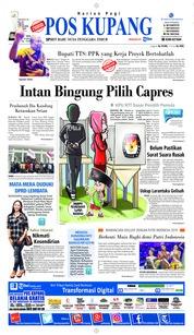 Cover Pos Kupang 19 Maret 2019