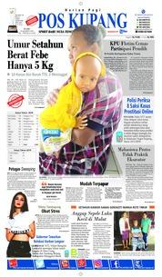 Pos Kupang Cover 20 March 2019