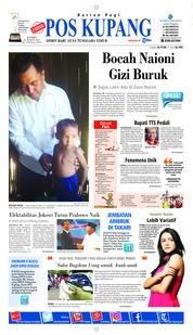 Cover Pos Kupang 21 Maret 2019