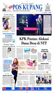 Cover Pos Kupang 22 Maret 2019