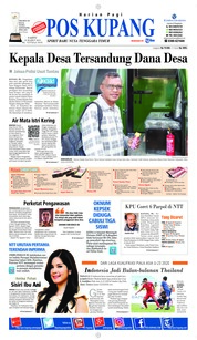 Cover Pos Kupang 23 Maret 2019