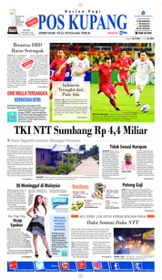 Pos Kupang Cover 25 March 2019