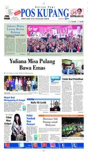 Pos Kupang Cover 26 March 2019