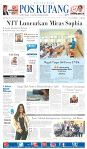 Pos Kupang Cover 02 April 2019