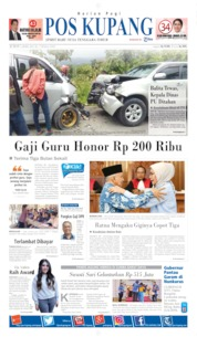 Pos Kupang Cover 05 April 2019