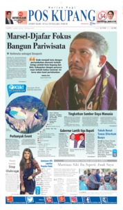 Pos Kupang Cover 06 April 2019