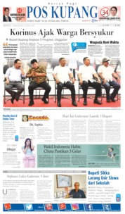 Pos Kupang Cover 07 April 2019