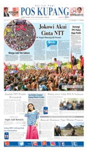 Pos Kupang Cover 09 April 2019
