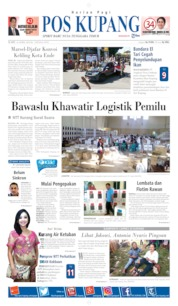 Pos Kupang Cover 10 April 2019