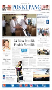 Pos Kupang Cover 11 April 2019