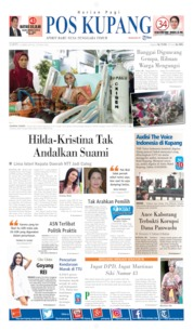 Pos Kupang Cover 13 April 2019