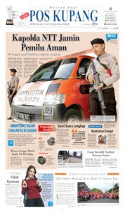 Pos Kupang Cover 16 April 2019