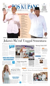 Pos Kupang Cover 18 April 2019