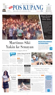 Cover Pos Kupang 20 April 2019