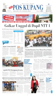 Cover Pos Kupang 23 April 2019