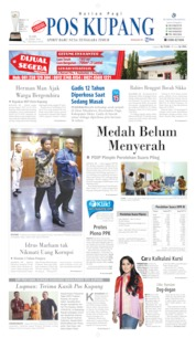 Pos Kupang Cover 24 April 2019