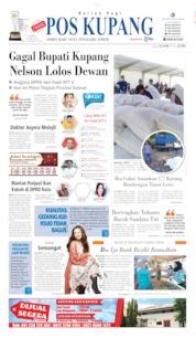 Cover Pos Kupang 11 Mei 2019
