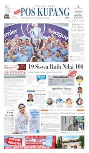 Pos Kupang Cover 13 May 2019