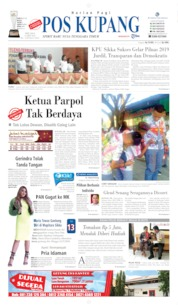 Pos Kupang Cover 14 May 2019