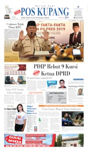 Pos Kupang Cover 15 May 2019