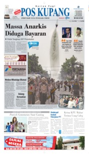 Pos Kupang Cover 23 May 2019
