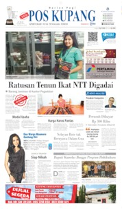 Pos Kupang Cover 24 May 2019