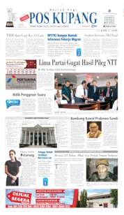 Pos Kupang Cover 25 May 2019