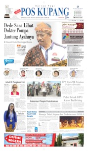 Pos Kupang Cover 27 May 2019